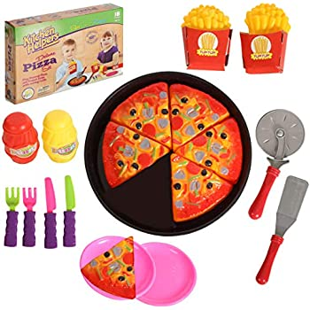 2017 Kids Pretend Role Play Kitchen Fruit Vegetable Food Toy Cutting Set NO1