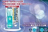 プロが使うマスク用 超抗菌/消臭スプレー「マスクにシュ!」花粉症対策の決定版!2013年度人気商品です。