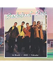 2022 Calendar: Backstreet Boys Yearly Monthly 16-month Mini Calendar 2022 with Large Grid for Planning, Scheduling, and Organizing