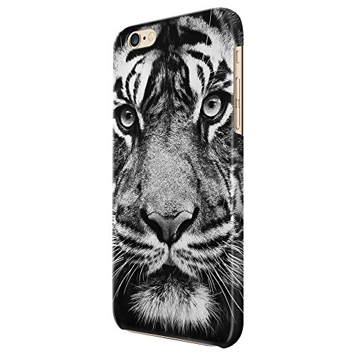 Cover Custodia Protettiva Black And White Bianco E Nero Tigre Sguardo Animali Look Case Iphone 4/4S/5/5S/5SE/5C/6/6S/6plus/6s plus Samsung S3/S3neo/S4/S4mini/S5/S5mini/S6/note