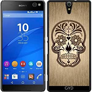 Funda para Sony Xperia C5 - Cráneo 615 by More colors in life