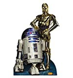 R2D2 & C3PO - Star Wars Classics Retouched - Advanced Graphics Life Size Cardboard Standup