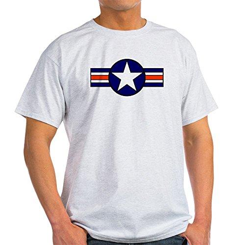- CafePress 1947 USAF Aircraft Insignia Ash Grey T-Shirt - 100% Cotton T-Shirt