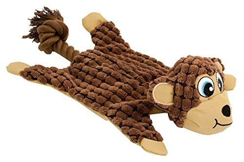 (Hyper Pet Cozy Krinkle Monkey Dog Toy)