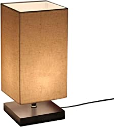 Perfect Surpars House Minimalist Solid Wood Table Lamp Bedside Desk Lamp