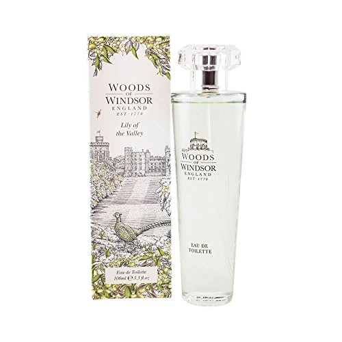 (Woods of Windsor Lily of The Valley Eau De Toilette Spray for Women, 3.3)