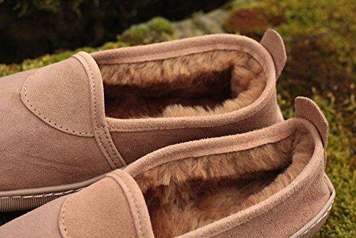 Mouton Susi de Chaussons Peau de Laine Merino Chaussures sur Premium Peau avec Femmes Leather Hollert 100 Mouton xFXwa1Xq