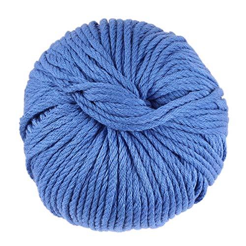 JubileeYarn Bamboo Cotton Chunky Yarn - Dynasty Blue - 2 ()