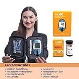 Blood Total Cholesterol Test Kit - Curo L5 Digital