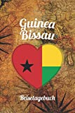Guinea-Bissau Reisetagebuch: A5 Reise Journal I Notizbuch I Urlaubs Planer I Road trip Planer I Travel notebook I 6X9 Pocket journal I Geschenk für Backpacker (German Edition)