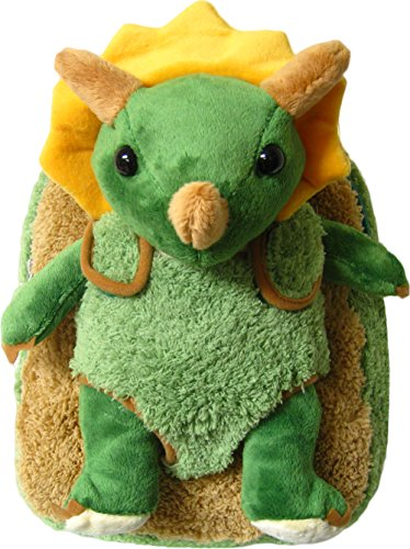 Kreative Kids Adorable Triceratops Plush Backpack with Removable Stuffed ()