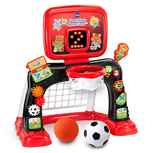 VTech Smart Shots Sports Center, Red (Smart Soccer)