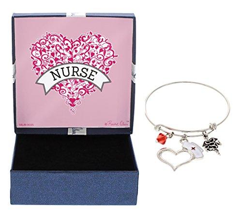 CNA Heart Necklace (Silver) - 8