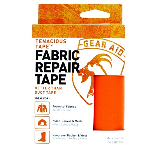 "Gear Aid Tenacious Tape Nylon Repair Tape for Fabric and Vinyl, 3"" x 20"", (Orange) by Gear Aid (Image #8)"