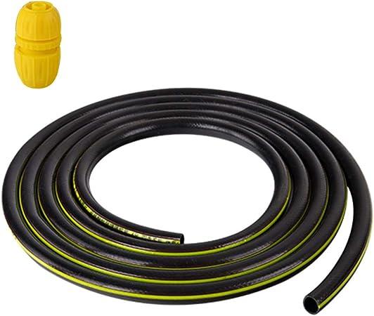 Manguera de Jardín HAIYU Flexible con Conector Universal, Manguera de Agua de PVC Manguera de Riego para Jardinería/Limpieza Diaria, 1/2 Pulgada y 3/4 de Pulgada de Diámetro: Amazon.es: Hogar