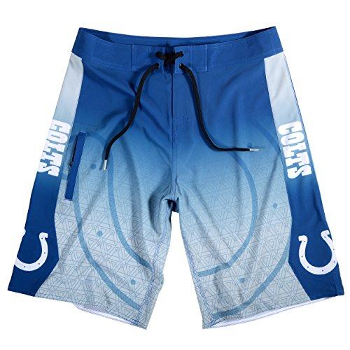 FOCO Indianapolis Colts Gradient Board Short Large 34 - Indianapolis Colts Shorts