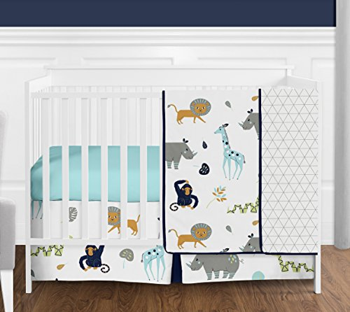 Zoo Crib Bedding Collection - 8