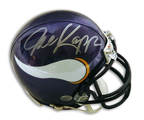 Autographed Joe Kapp Minnesota Vikings Riddell Replica Mini Helmet - Certified Authentic Signature (Minnesota Autographed Replica Helmet Vikings)