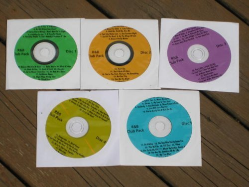 - Music Maestro CDG Karaoke 5 Disk R+B CLUB PACK SET - 92 Songs Soul, Motown, Rhythm and Blues