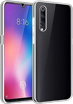 SDTEK Fundas para Xiaomi Mi 9 Cuerpo Completo Protección Delantera Trasera Cubierta 360 Transparente Suave: Amazon.es: Electrónica