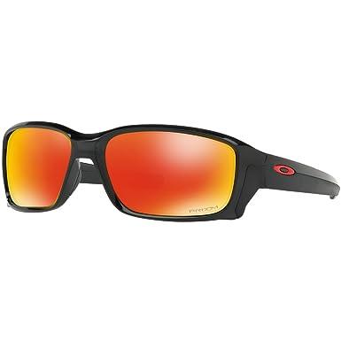 993fc33d0ebcb Oakley Men s Straightlink Non-Polarized Iridium Rectangular Sunglasses
