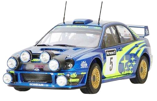 Subaru Impreza 2001 (rally Of Great Britain) Wrc 2001 - 1:24 Cars - Tamiya