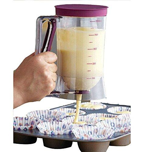 AGPtek 900ml CupCake Batter Dispenser product image