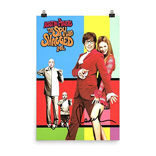 Austin-Felicity-Vanessa Funny Poster Gift for Men Women for Fans of Austin-Powers-The-Spy-Who-Shagged-Me Tv.Show