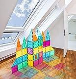 Neoformers Magnetic Building Tiles, 70 Pcs 3D