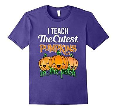Cute Teacher Shirt I Teach The Cutest Pumpkins Halloween Tee