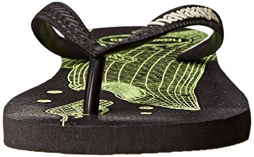 Havaianas Heren 4 Nite Flip-flop Zwart / Zwart