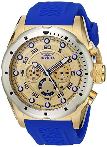 - Invicta Men's 20307 Speedway Stainless Steel Watch With Blue PU Band