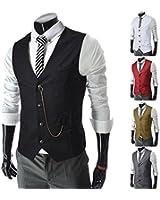 SPRINGWIND Men's Formal Vest Waistcoat Dress Vests Jackets Valentines