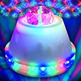 LED Disco Flower Ball Party Light – Ships from USA – LED RGB Rotating Lamp