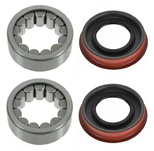 PAIR Rear Left And Right Wheel Bearing & Seal fit 1999-2015 CHEVROLET SILVERADO 1500 (Standard Replacement Bearing; 8.6