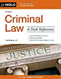 Criminal Law, J.D., Paul Bergman, 1413319939