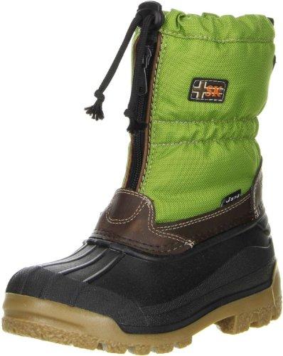 Vista Canada POLAR Mädchen Jungen Kinder Winterstiefel Snowboots Thermo-TEX Innenschuhen grün Grün