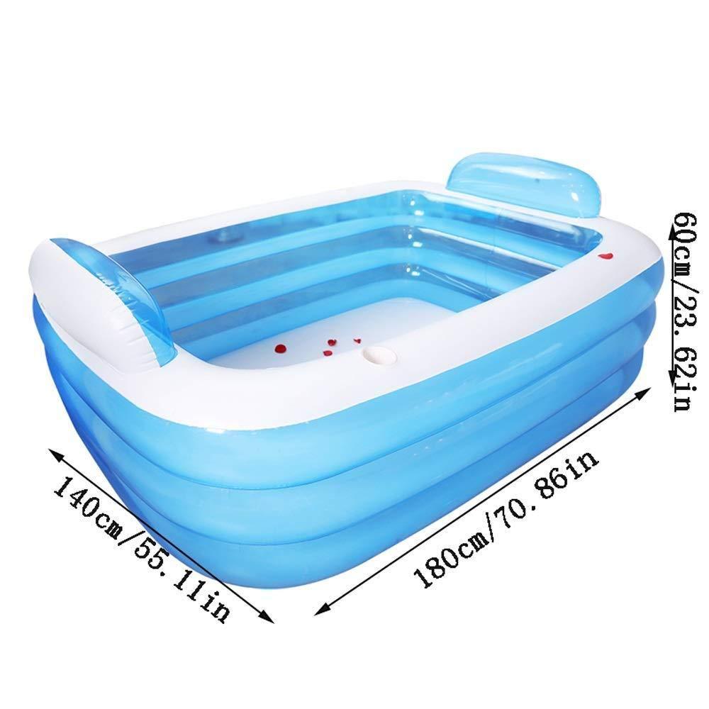 PROMISE-YZ Bañera hinchable Baño para adultos Barril ...