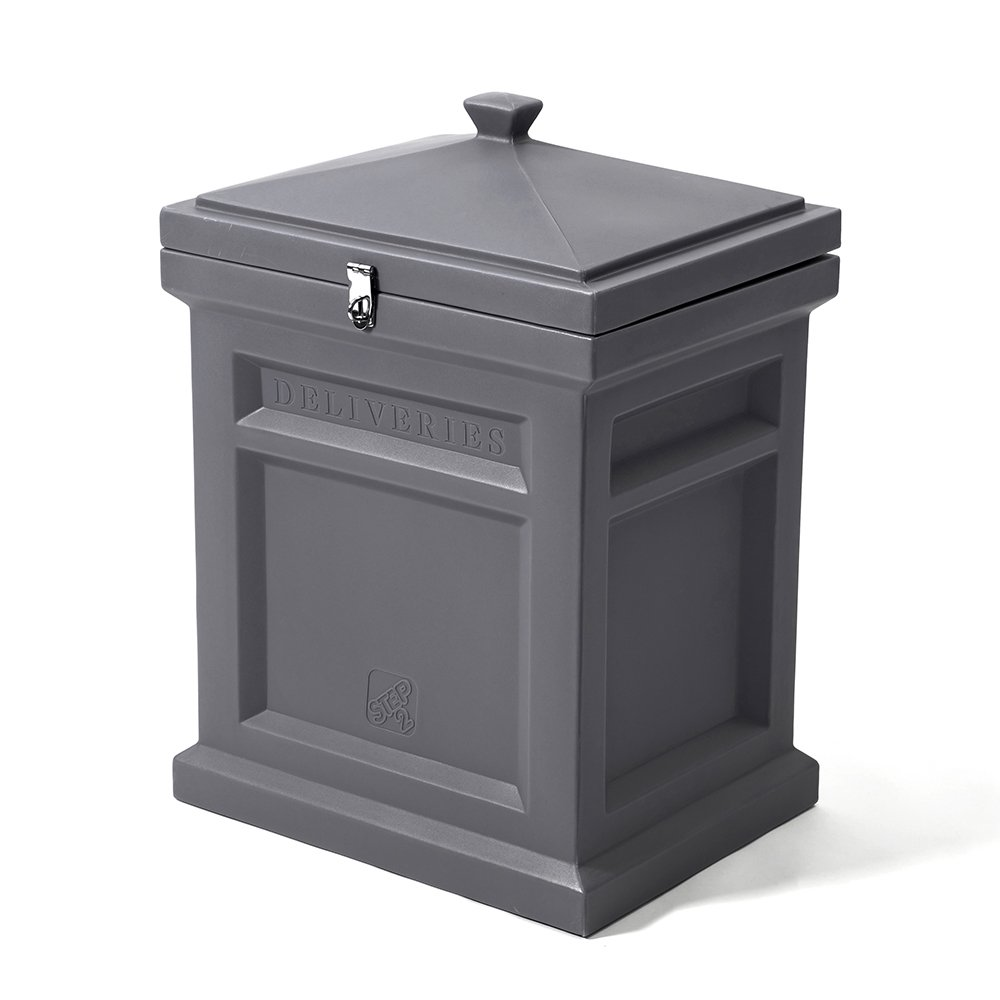 Step2 Deluxe Package Delivery Box, Manor Gray