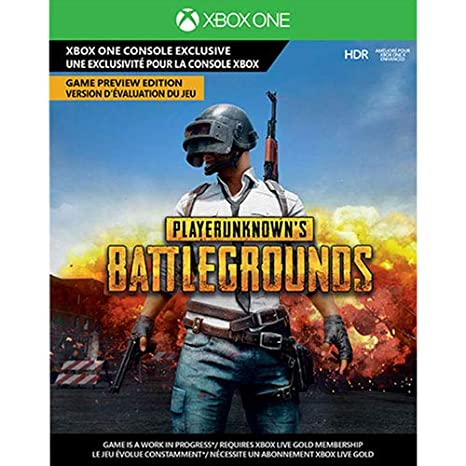 Amazon Com Playerunknown S Battlegrounds Game Preview Edition Xbox One Digital Download Card Video Games