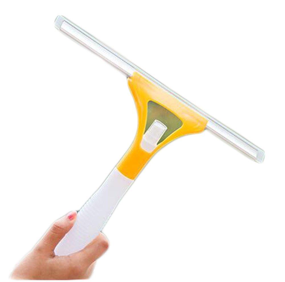 hosaire cristal rasqueta limpiacristales 1 pcs con construido en botella de Spray de cristal limpiaparabrisas limpiador de ventanas de goma cuchillas para ...