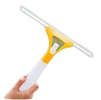 hosaire cristal rasqueta limpiacristales 1 pcs con construido en botella de Spray de cristal limpiaparabrisas limpiador