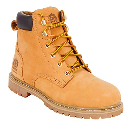 "KING'S 6"" Steel Toe Leather Work Boots (KCWB04)"
