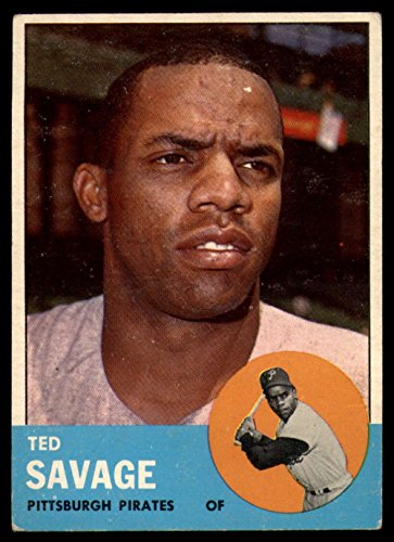 1963 Topps Baseball 508 Ted Savage Tough Series Excellent (5 out of 10) by Mickeys Cards