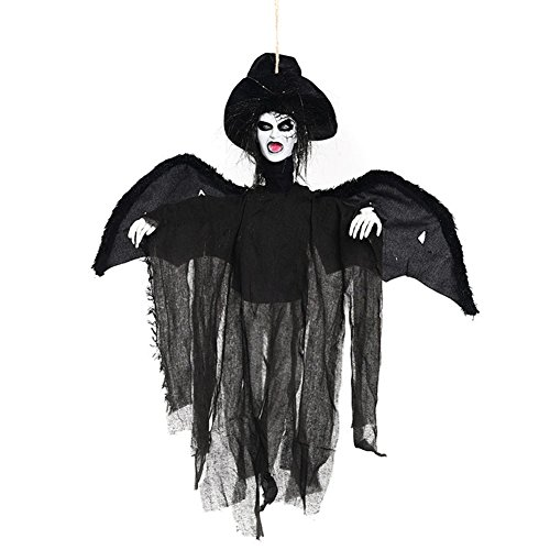 Halloween Decoration Hanging Ghost Skeleton Witch, Halloween Prop Evil Devil Backyard Parties Halloween Accessories