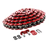 520-90L Red O-Ring Chain for Honda ATC250R ATC 250 R 3-Wheeler ATV 1983 1984