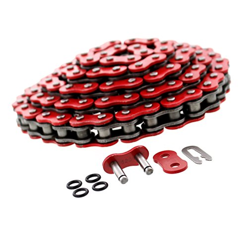 (1999-2008 Fits Honda Sportrax 400EX TRX400EX Red O-Ring Chain 520-94L)