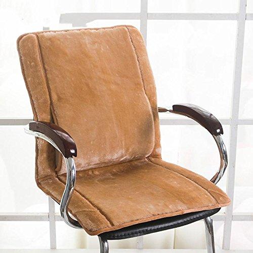GX AI YY New Day®-Cuscini Ufficio Sedia del Computer più Spessa Invernali Cuscini per sedie Pranzo Studente Peluche Cuscini Pad, a, 43x80cm