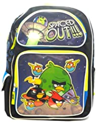 Full Size Black and Blue Angry Birds Space Backpack - Angry Birds Backpack