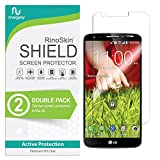 (2-Pack) RinoGear Screen Protector for LG G2 Case